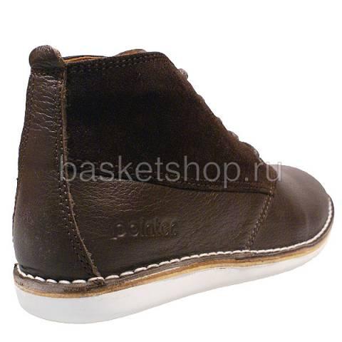 мужские коричневые  ботинки cyril ii l009475-p2099w5/2y70 - цена, описание, фото 3