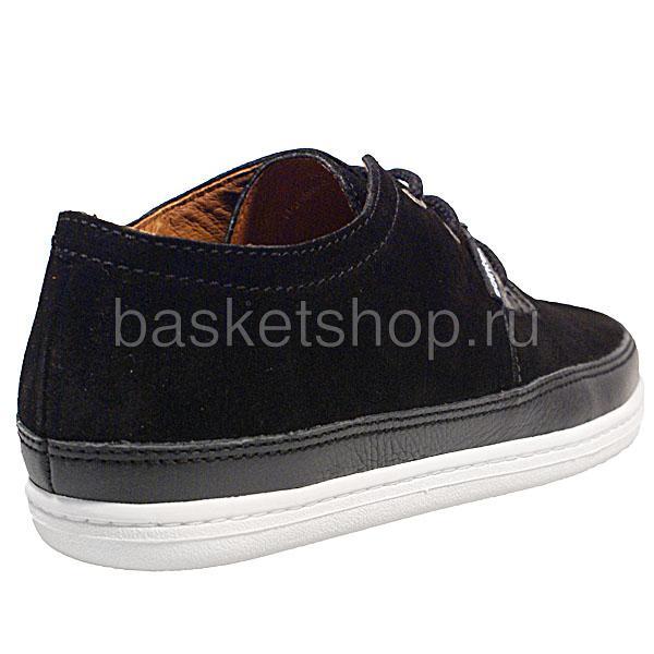мужские черные  ботинки a.j.s. ii l009479-p2122s2/8970 - цена, описание, фото 3