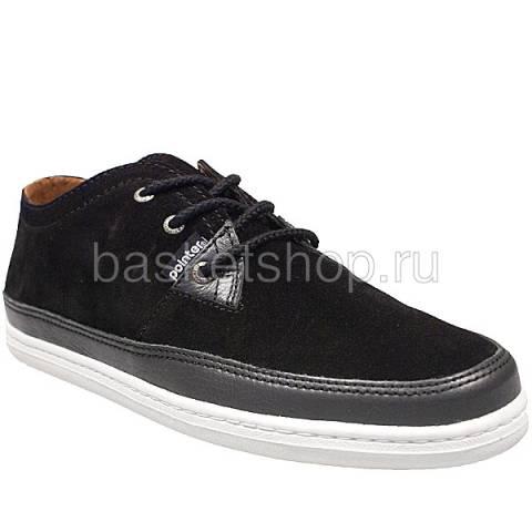 мужские черные  ботинки a.j.s. ii l009479-p2122s2/8970 - цена, описание, фото 1