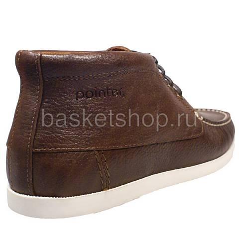 мужские коричневые  ботинки  benson !009502-p14328c/2y70 - цена, описание, фото 3