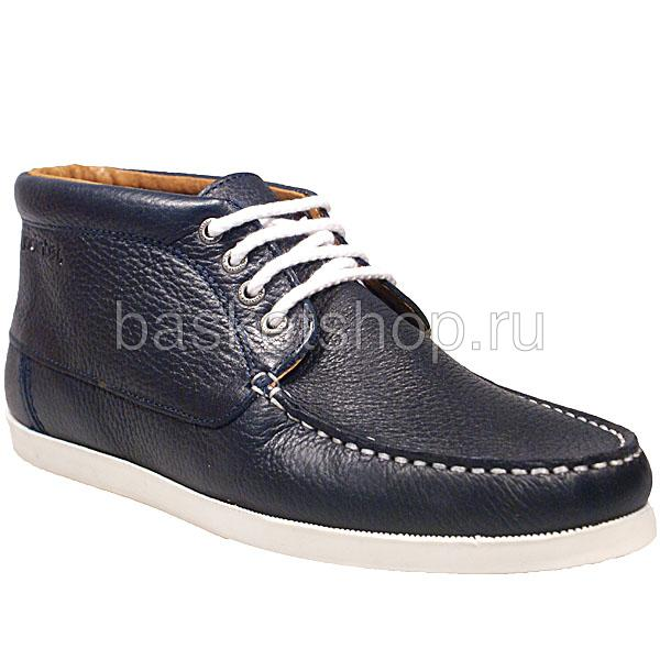 Ботинки BensonБотинки<br>кожа, текстиль, резина<br><br>Цвет: синий<br>Размеры EUR: 40<br>Пол: Мужской