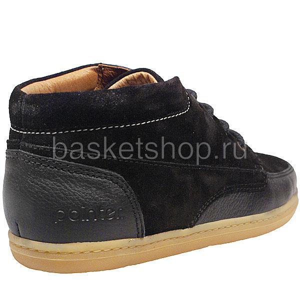 мужские черные  ботинки barajas mid ii l010227-p2102s2/8973 - цена, описание, фото 3