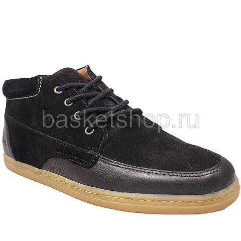 мужские черные  ботинки barajas mid ii l010227-p2102s2/8973 - цена, описание, фото 1