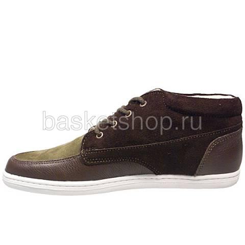 мужские коричневые, зеленые  ботинки barajas mid ii l010227-p2102s2/z570 - цена, описание, фото 2