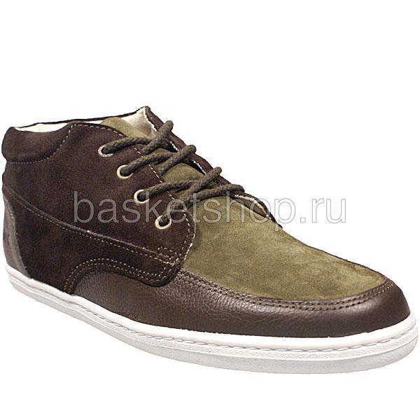 мужские коричневые, зеленые  ботинки barajas mid ii l010227-p2102s2/z570 - цена, описание, фото 1