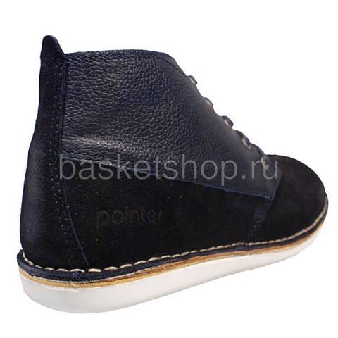 мужские синие  ботинки cyril ii l010230-p2092s2/7770 - цена, описание, фото 3