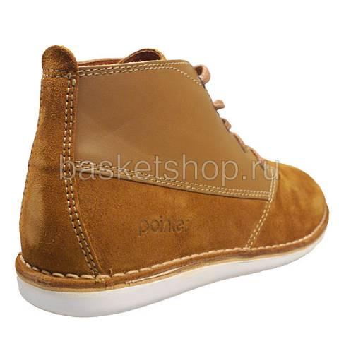 мужские коричневые  ботинки cyril ii l010230-p2092s2/t270 - цена, описание, фото 3