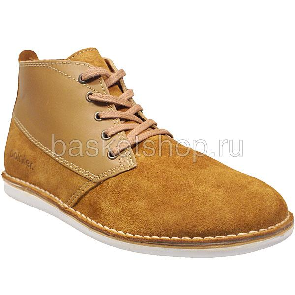 мужские коричневые  ботинки cyril ii l010230-p2092s2/t270 - цена, описание, фото 1