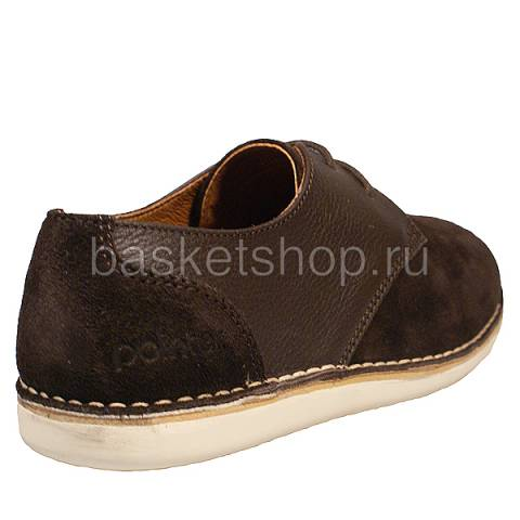 мужские коричневые  ботинки crago l010232-p2292s2/ca82 - цена, описание, фото 3