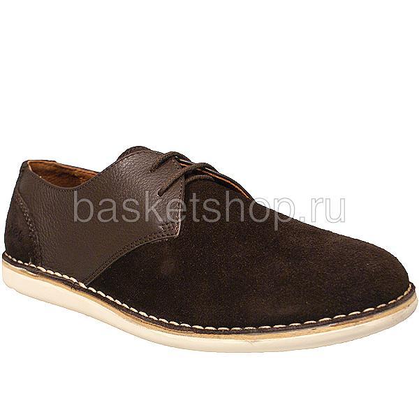 мужские коричневые  ботинки crago l010232-p2292s2/ca82 - цена, описание, фото 1
