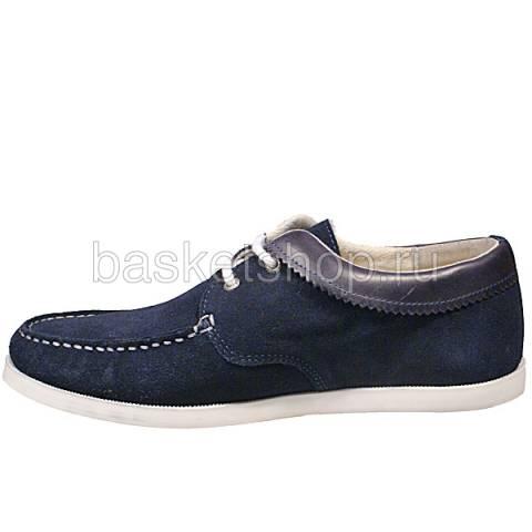 мужские синие  ботинки saha l010261-p14428c/7770 - цена, описание, фото 2