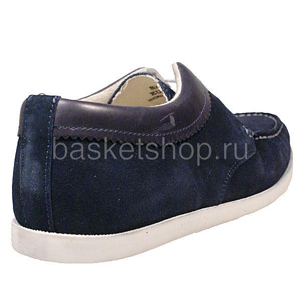 мужские синие  ботинки saha l010261-p14428c/7770 - цена, описание, фото 3