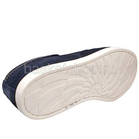 мужские синие  ботинки saha l010261-p14428c/7770 - цена, описание, фото 4
