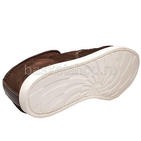 Купить мужские коричневые  ботинки saha в магазинах Streetball - изображение 4 картинки