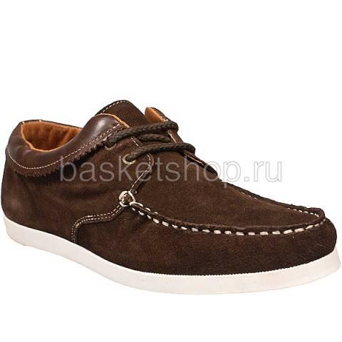 Купить мужские коричневые  ботинки saha в магазинах Streetball - изображение 1 картинки