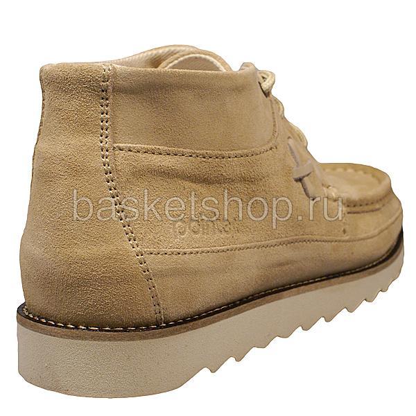 мужские бежевые  ботинки conor 010293-P238894F/4570 - цена, описание, фото 3