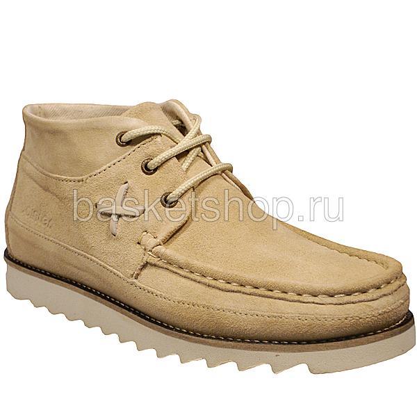 мужские бежевые  ботинки conor 010293-P238894F/4570 - цена, описание, фото 1