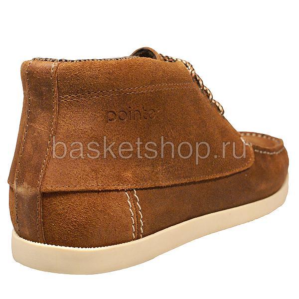 мужские коричневые  ботинки benson l011583-p1431u6/u982 - цена, описание, фото 3