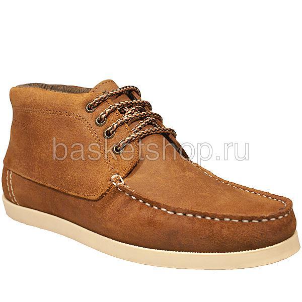 мужские коричневые  ботинки benson l011583-p1431u6/u982 - цена, описание, фото 1