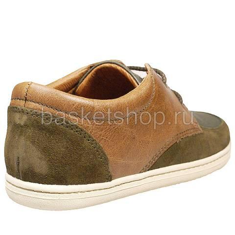 Купить мужские коричневые, зеленые  ботинки barajas ii в магазинах Streetball - изображение 3 картинки