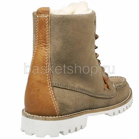 женские коричневые  ботинки farai 011613/7E70 - цена, описание, фото 3