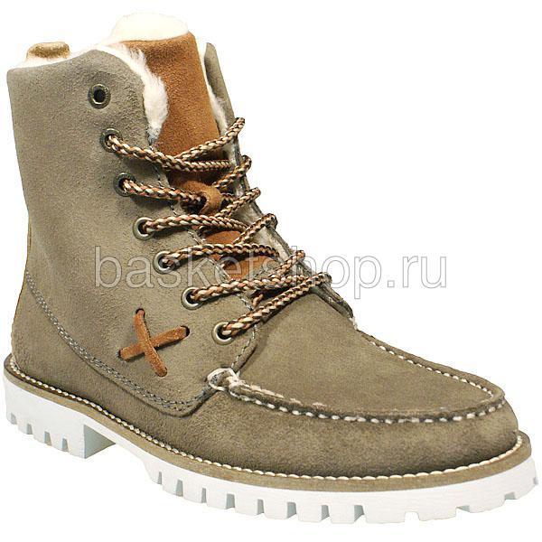 женские коричневые  ботинки farai 011613/7E70 - цена, описание, фото 1