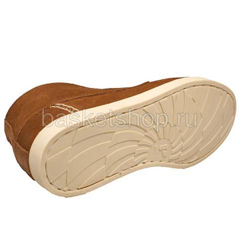 женские коричневые  ботинки caz 011616/U982 - цена, описание, фото 4