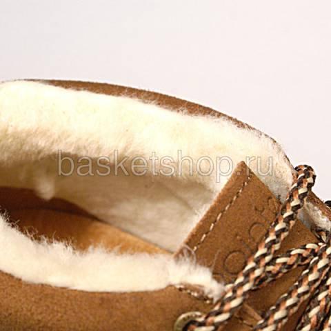 женские коричневые  ботинки caz 011616/U982 - цена, описание, фото 5