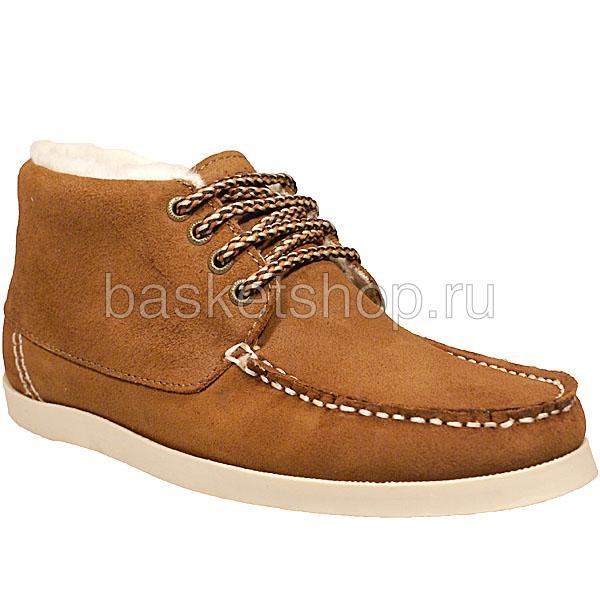 женские коричневые  ботинки caz 011616/U982 - цена, описание, фото 1