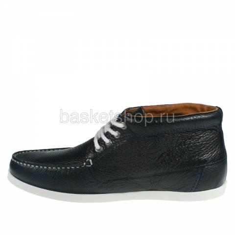 Купить мужские темно-синие, белые  ботинки benson в магазинах Streetball - изображение 2 картинки