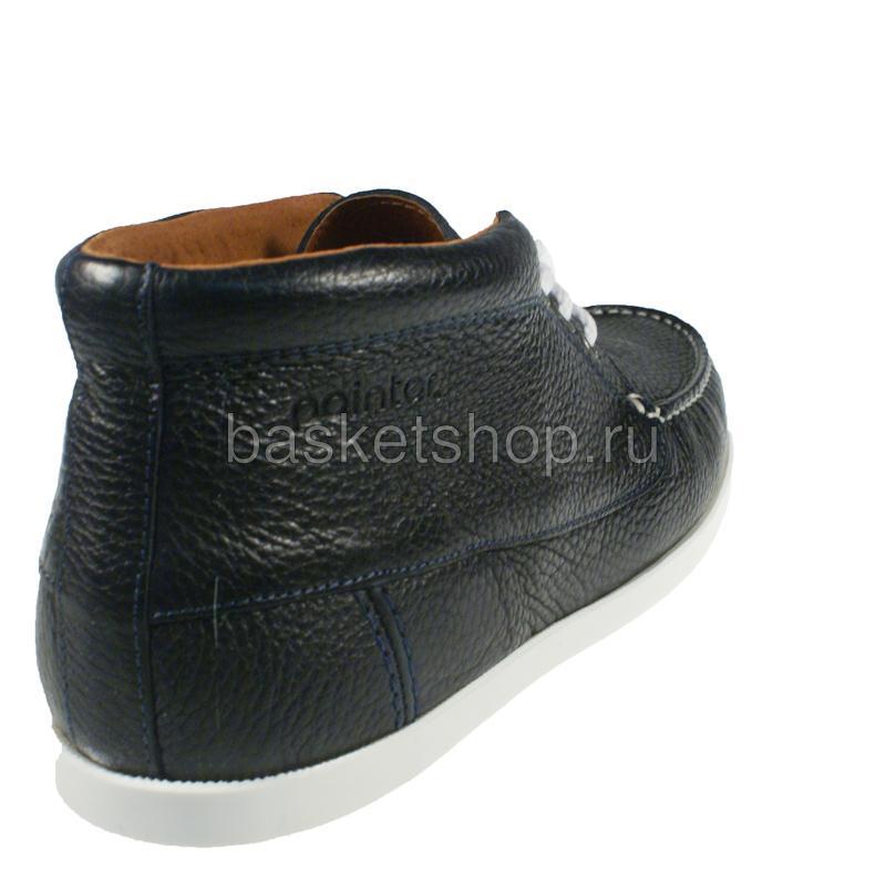 Купить мужские темно-синие, белые  ботинки benson в магазинах Streetball изображение - 3 картинки