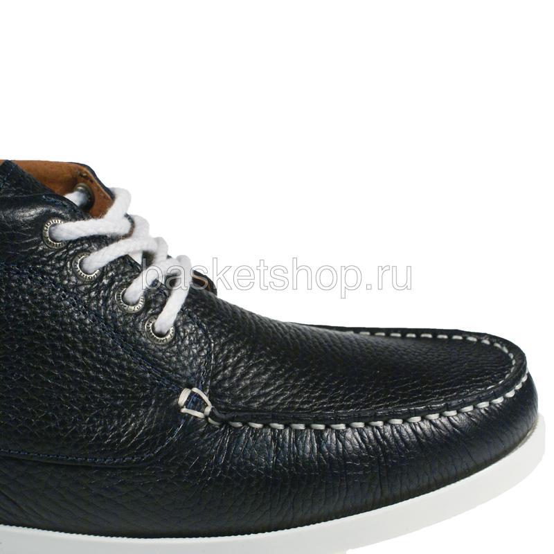 Купить мужские темно-синие, белые  ботинки benson в магазинах Streetball изображение - 5 картинки