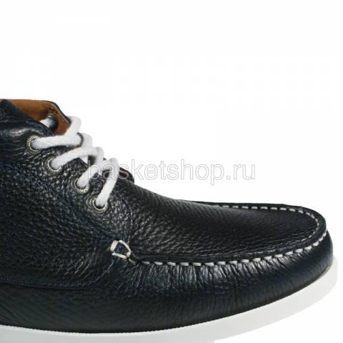 Купить мужские темно-синие, белые  ботинки benson в магазинах Streetball - изображение 5 картинки