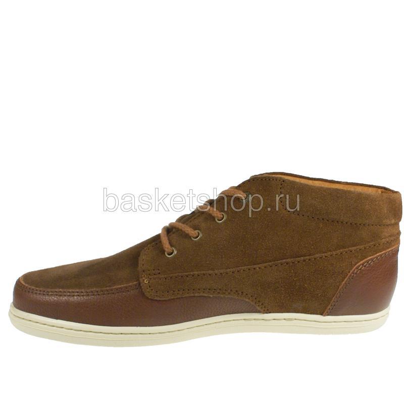 Купить мужские коричневые, белые  ботинки barajas mid ii в магазинах Streetball изображение - 2 картинки