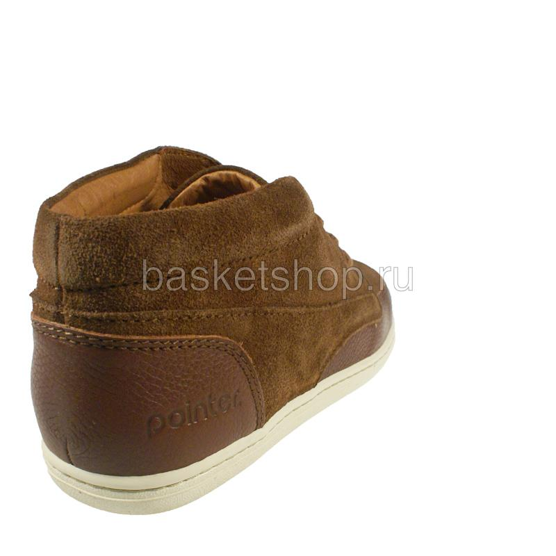 мужские коричневые, белые  ботинки barajas mid ii 1010227/5784 - цена, описание, фото 3