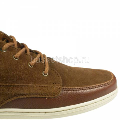 мужские коричневые, белые  ботинки barajas mid ii 1010227/5784 - цена, описание, фото 5