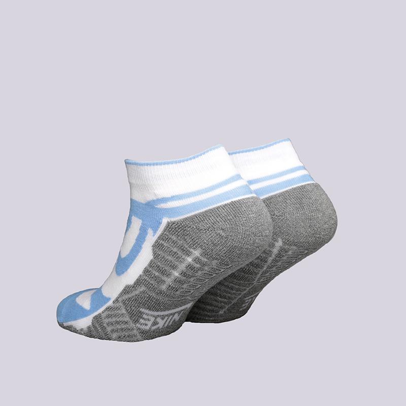 голубые, серые, белые  носки nike dunk socks sx4486-140 - цена, описание, фото 2