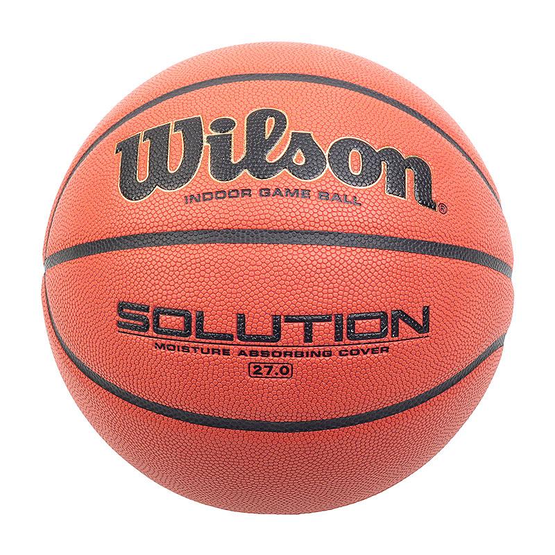 Мяч Solution №5Мячи<br>синтетика<br><br>Цвет: коричневый<br>Размеры : 5