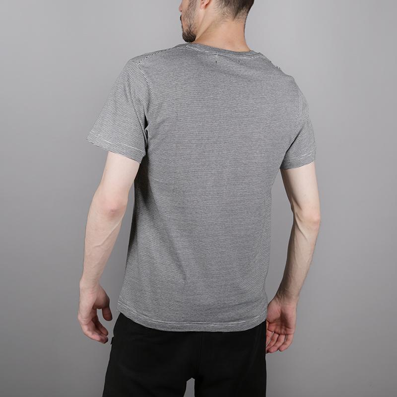 мужскую чёрную, белую  футболка wemoto blake b155-black microst - цена, описание, фото 3
