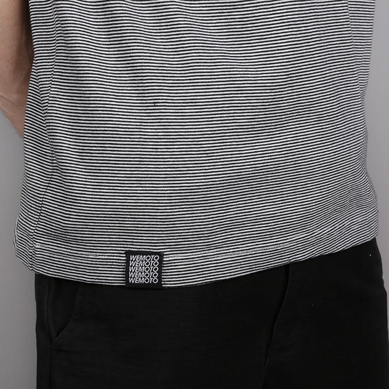 мужскую чёрную, белую  футболка wemoto blake b155-black microst - цена, описание, фото 4
