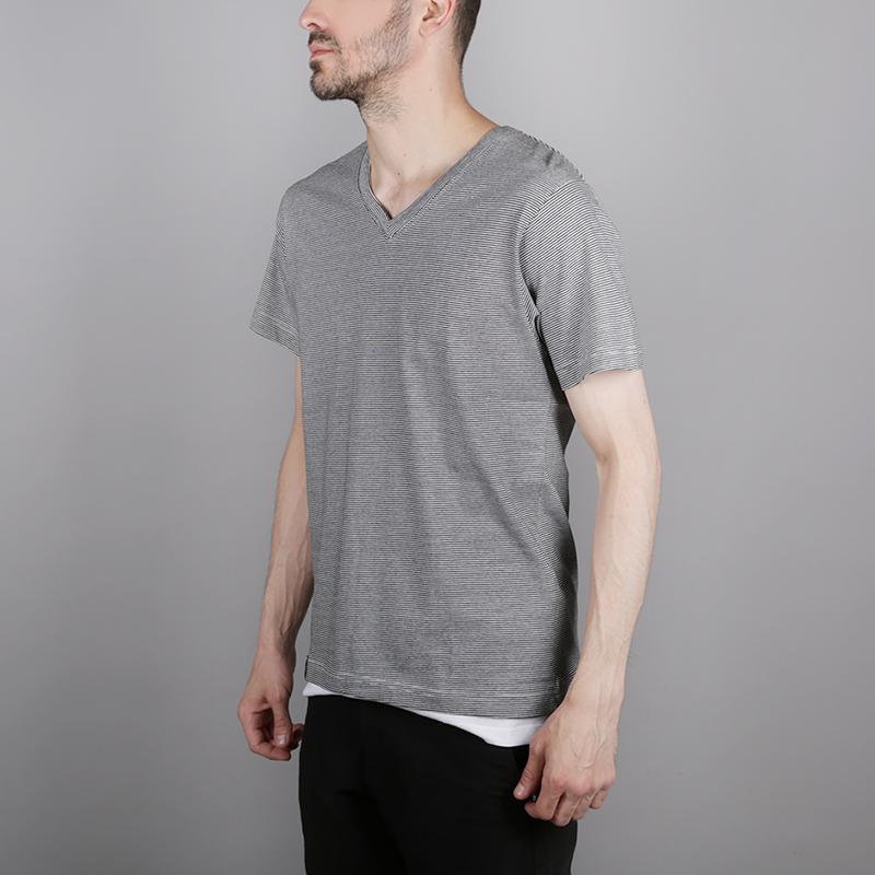 мужскую чёрную, белую  футболка wemoto blake b155-black microst - цена, описание, фото 2