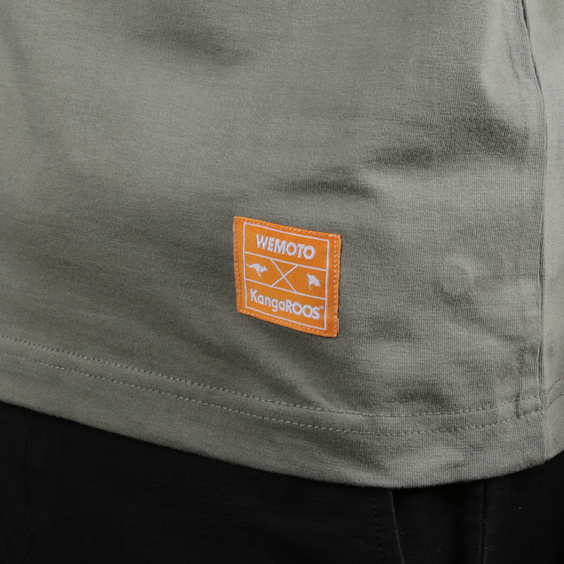 мужскую зелёную  футболка wemoto wemoto x roos 1W00670830 - цена, описание, фото 4