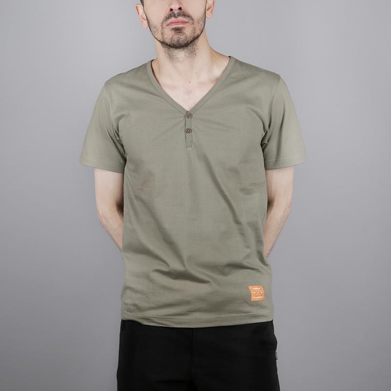 мужскую зелёную  футболка wemoto wemoto x roos 1W00670830 - цена, описание, фото 1