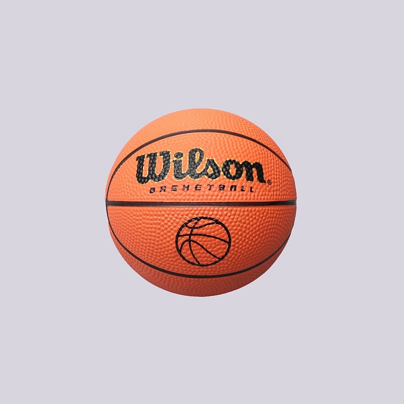 Мяч №2 Wilson Micro BallМячи<br>Резина<br><br>Цвет: Оранжевый<br>Размеры : 2