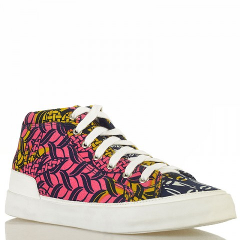 Купить мужские синие, розовые, желтые  кеды dcac africa в магазинах Streetball - изображение 1 картинки