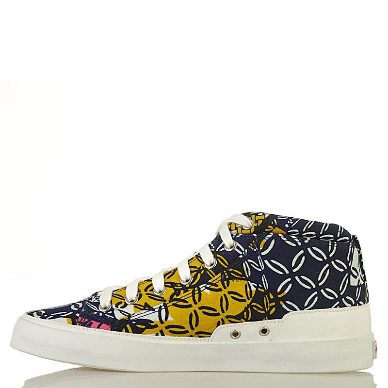 Купить мужские синие, розовые, желтые  кеды dcac africa в магазинах Streetball изображение - 3 картинки