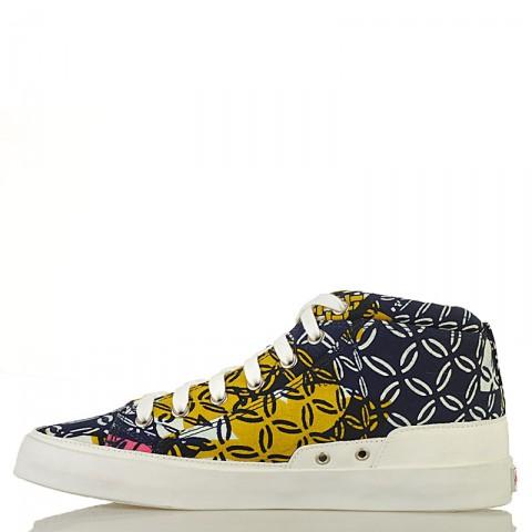 Купить мужские синие, розовые, желтые  кеды dcac africa в магазинах Streetball - изображение 3 картинки