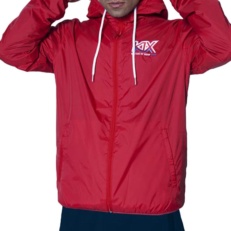 Ветровка Track Logo WinbreakerКуртки, пуховики<br>100% полиэстер<br><br>Цвет: красный<br>Размеры US: 2XL<br>Пол: Мужской