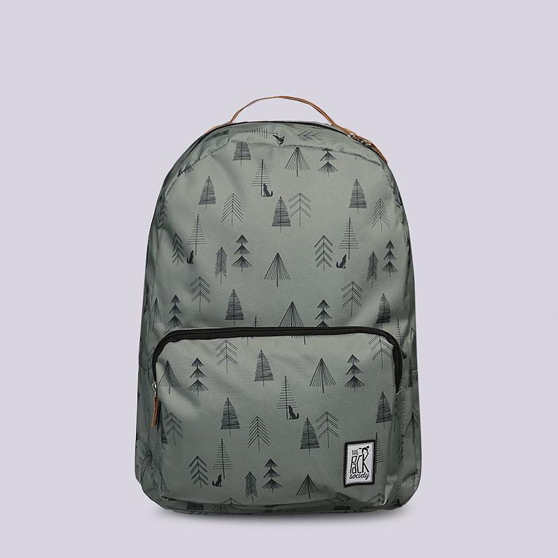 Рюкзак The Pack Society Classic 18LСумки, рюкзаки<br>Полиэстер<br><br>Цвет: Зеленый<br>Размеры : OS