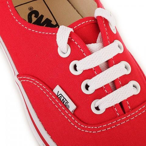 Купить мужские красные  кеды vans authentic trainer в магазинах Streetball - изображение 2 картинки